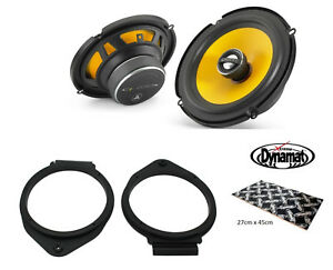 "Vauxhall Astra J VXR 6.5"" Front door speaker upgrade kit from JL Audio Dynamat"