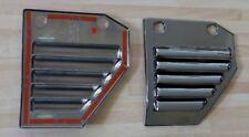 Black Chrome capots latéraux avant Hummer h2 à'04