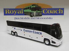 "Easton Coach Co. trim on a Brand New Mold MCI ""J""  Plastic 11"" Bank Bus"
