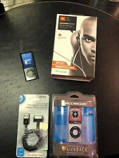 Apple iPod nano 5th Generation Silver (8 GB)~NEEDS BATT~BUNDLE