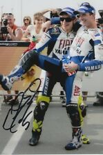 COLIN EDWARDS HAND SIGNED FIAT YAMAHA 6X4 PHOTO 2.