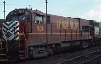 LVRR LEHIGH VALLEY Railroad Penn Central Locomotive CHICAGO Original Photo Slide