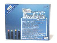 NEW Darice LT-140-7 Multiple Function Teeny 140-Bulb Light Set, Multicolored