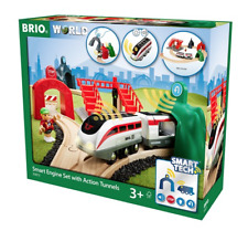 BRIO 33873 Smart Engine Set with Action Tunnels.FreePost.Ship from Melbourne.