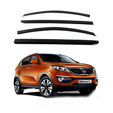 New Smoke Window Vent Visors Rain Guards for Sportage R 2011 - 2013