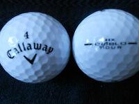 "40  CALLAWAY  ""HX DIABLO TOUR""  - BLACK TICK - Golf Balls -  ""A"" Grade."