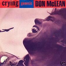 "jukebox single 45 DON McLEAN CRYING  HOLLAND PS 7 """