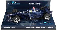 Minichamps Williams FW27C Interim Test 2005/2006 - Nico Rosberg 1/43 Scale