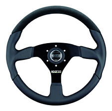 SPARCO RACING L505 LEATHER + ALCANTARA STEERING WHEEL 350MM DISH CONCAVE