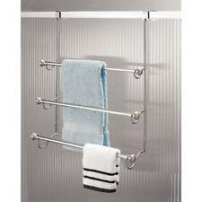 InterDesign York Over the Shower Door Towel Rack for Bath W  sc 1 st  eBay & Over the Door Towel Racks | eBay