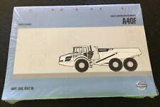 Volvo Parts Catalog A40F