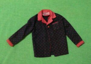 Vintage Ken Doll Clothes - Vintage Ken 1418 Time to Turn In Pajama Top