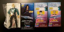Playmates Star Trek Voyager Seven of Nine, Picard, Spock, Tasha Yar Toyfare