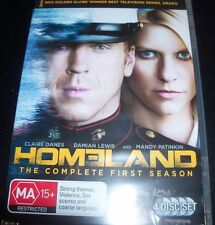 Homeland The Complete First Season 1 (Australia Region 4) DVD – New