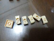 Non-Lego LOT of Bricks - Flesh Color 7 pieces - Check Below
