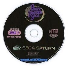 # Panzer Dragoon Saga demo cd (= la completa 1. CD del gioco) - SEGA SATURN