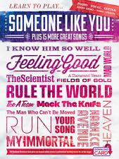 LEARN TO PLAY SOMEONE LIKE YOU & 15 SONGS PIANO/VOCAL/GUITAR MUSIC BOOK NEW SALE