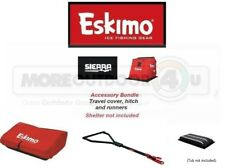 306031 Eskimo Sierra Exclusive Accessory Bundle Tow Hitch Travel Cover Runners