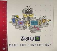 Pegatina/sticker: Zenith Data Systems-make the connection (250316122)