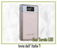 Power Bank 10000mAh COMPATTO per Nokia Lumia 1020 , Nokia 3310 3G 05033