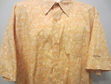 Life is Good Golf 100% cotton short sleeve button front Hawaiian shirt adult XL