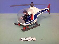 (M137) playmobil hélicoptère police ref 3988 3159