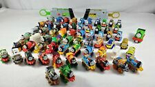 Thomas the Train mini train lot of 62 plastic mini trains & 2 train shooters (cg