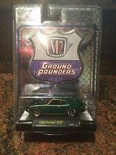 1969 Pontiac GTO Chase Car M2 Machines 1:64 Ground Pounder