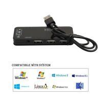 3 port USB 2.0 Hub mit externen 7.1-Kanal Soundkarte Kopfhörer Mikrofon Ada