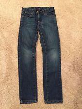 PAPER DENIM & CLOTH Designer Girls Denim Jeans Size 8 Adjustable Waist Straight