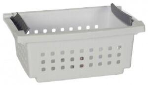 Sterilite STACKING BASKET Flip In Handles WHITE- Small, Medium Or Large