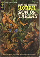 Korak Son of Tarzan Comic Book #10 Gold Key Comics 1965 FINE
