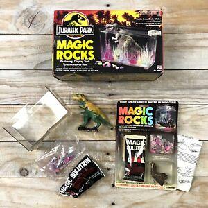 Vintage Jurassic Park Magic Rocks T-Rex Set 1992 Collectible 08951