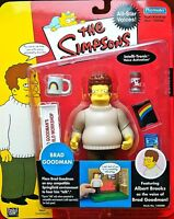 S2 BRAD GOODMAN ALL STAR VOICES THE SIMPSONS WOS PLAYMATES ACTION FIGURE MIP