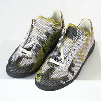 MAISON MARTIN MARGIELA 22 camo rubber dot shoes army trainers sneakers 40 NEW