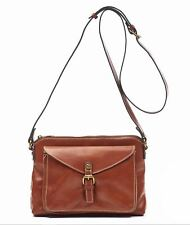 Patricia Nash AVELLINO Shoulder Bag Crossbody bagLeather TAN MRP $149 - F&H