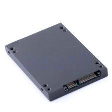 "1.8"" 16pin Micro SATA MSATA SSD to 2.5"" Sata adaptateur convertisseur Case HG"