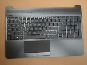 New HP 15-DW Keyboard Palmrest  L52021-001