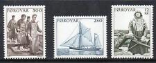 Islas Feroe estampillada sin montar o nunca montada 1984 Sg100-02 pesca locales