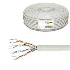 50m 0,25€/m CAT5e U/UTP Kabel Netzwerk Installation Verlegekabel LAN Ethernet