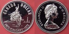 Specimen 1975 Canada Calgary Silver 1 Dollar From Mint's Set