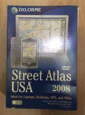 Street Atlas USA 2008 DVD PCS GPS PDAS LAPTOPS VINTAGE