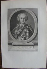 CHARLES FREDERIC II ROI DE PRUSSE (1712-1786)