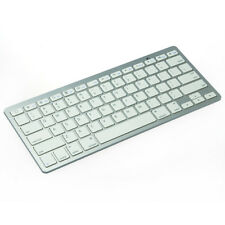 Clavier QWERTY Slim Compact Sans Fil Bluetooth pour iPad Tablet PC HTC Samsung…