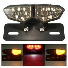 Motorcycle Brake Tail Turn Signal License Plate Smoke Light Integrated Light(Fits: Gecko)