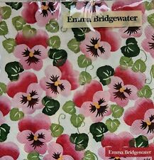 Emma Bridgewater PINK PANSY Floral Lunch Napkins Pack of 20