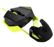 Mad Catz MCZ R.A.T. 1 RAT RAT1 PC Wired 3500 dpi Gaming Mouse GREEN - NEW