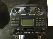 JAGUAR X TYPE 01-09 DASHBOARD RADIO CASSETE DISPLAY PANEL 1X4318K876 AB