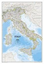 "National Geographic Reference Map - Italy Classic [Folded] (23"" X 34"" unfolded)"