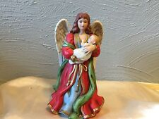 Homco Home Interior Heaven'S Treasures Angel With Child # 1432